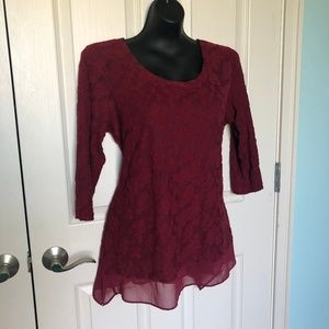 Simply Vera - Large Red Lace
